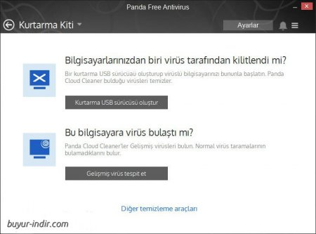 Panda Free Antivirus v16.1.2 Türkçe