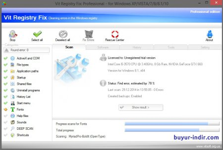 Vit Registry Fix Professional v12.6.5 Full indir