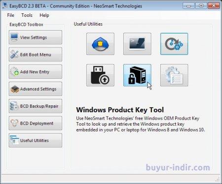 EasyBCD Community Edition v2.3 Full indir