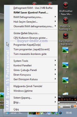 RAM Saver Professional v15.3 Türkçe Full indir