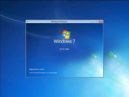 Windows 7 Home Premium SP1 2015 Türkçe Full (x86 - x64)