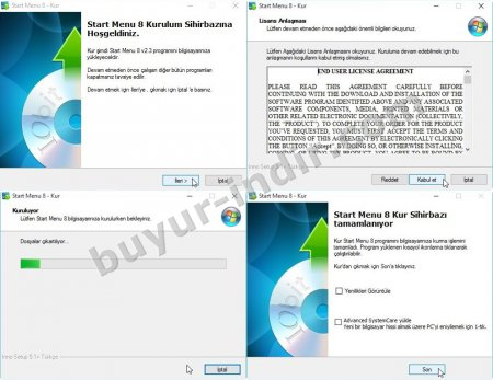 IObit Start Menu 8 v8.3.1.0.2 Türkçe