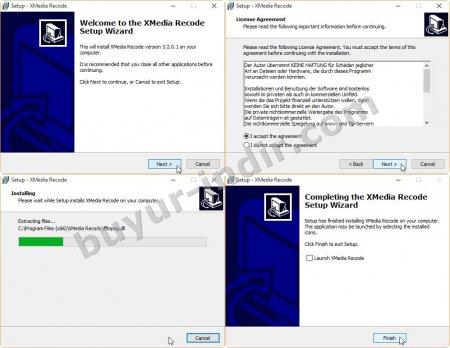 XMedia Recode v3.3.2.8 Türkçe