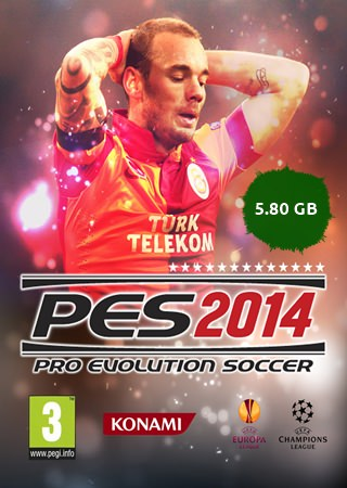 PES 2014 + Türkçe Yama Tek Link Full indir