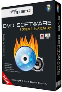 Tipard DVD Software Toolkit Platinum v6.5.10 Full