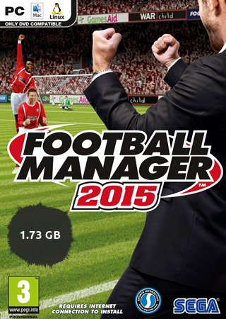 Football Manager 2015 PC Tek Link
