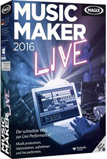 MAGIX Music Maker 2016 Live v22.0.1.51 Full