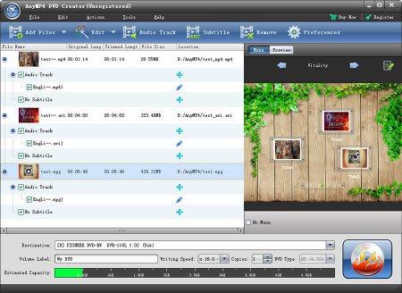 AnyMP4 DVD Creator v6.1.30