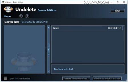 Condusiv Undelete 10 Server Edition B7.0.204.26 Full