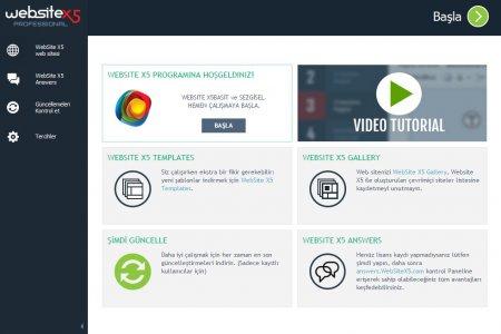 Incomedia Website X5 Evolution / Pro v12.0.9.30 Türkçe