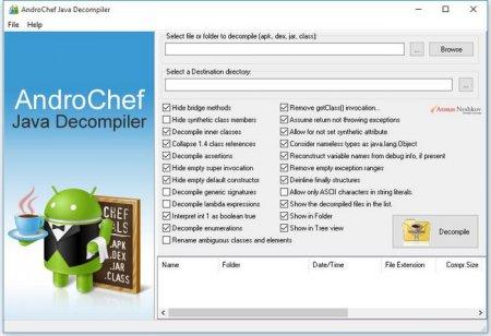 AndroChef Java Decompiler v1.0.0.12 Full
