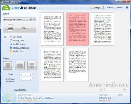 GreenCloud Printer Pro v7.7.6.0 Full indir