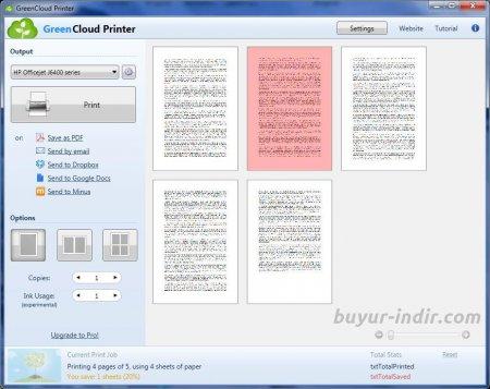 GreenCloud Printer Pro v7.7.6.0 Full indir