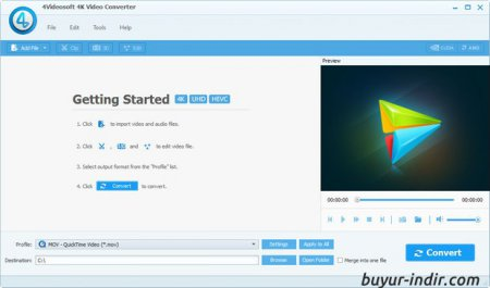 4Videosoft 4K Video Converter v5.0.8 Full