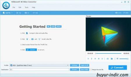 4Videosoft 4K Video Converter v5.0.8 Full