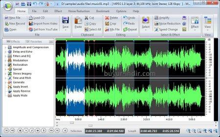MP3 Audio Editor v10.0.3 Full indir
