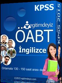 KPSS - ÖABT İngilizce Eğitim Seti 2015