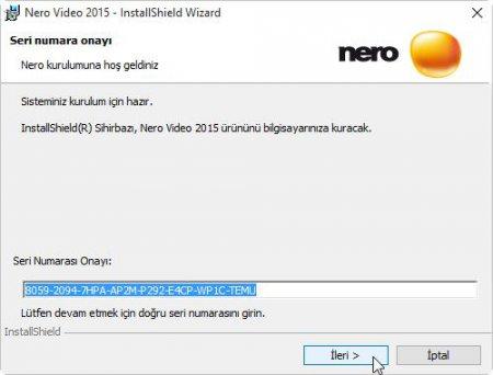 Nero Video 2015 Resimli Program Kurulumu