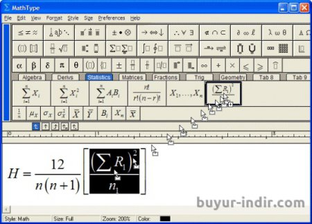 MathType v6.9 Full indir