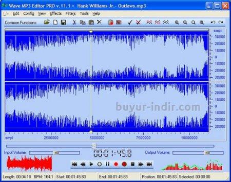 Wave MP3 Editor Pro 2016 Full indir