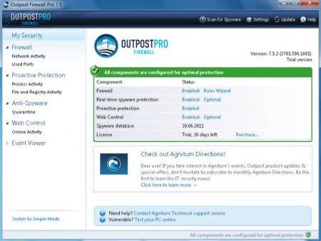 Agnitum Outpost Firewall Pro v9.3.4934 (x86 / x64)