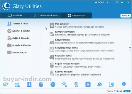 Glary Utilities Pro v5.54.0.75 Türkçe Portable