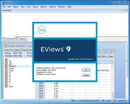 EViews Enterprise Edition v9.5 (x64)