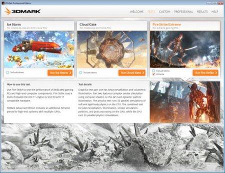Futuremark 3DMark Professional Edition v2.0.2724
