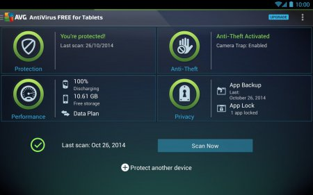 AVG Tablet Antivirus Security Pro v5.1.1 APK Full