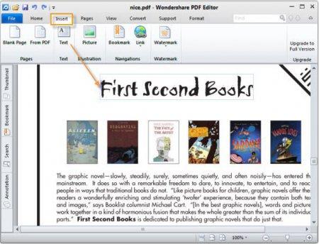 Wondershare PDF Editor v3.9.11.9 Full indir