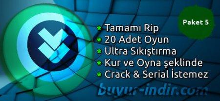 20 Adet Rip Oyun Paketi Tek Link (Özel Arşiv) #5