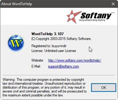 Softany WordToHelp v3.107 Full