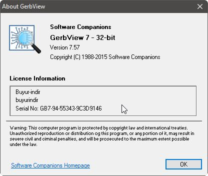 GerbView v7.57 Full indir