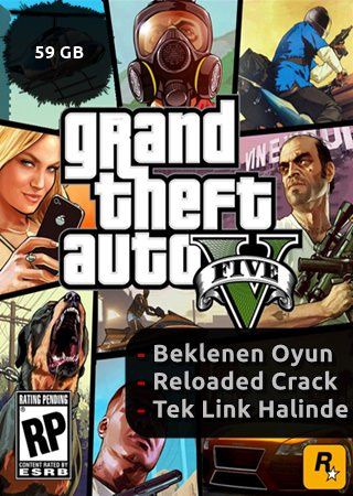 Grand Theft Auto V (GTA 5) (RELOADED) (Tek Link)