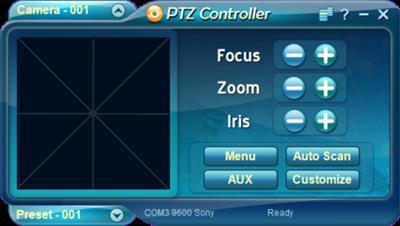 Serial Port Tool PTZ Controller v3.4.1005