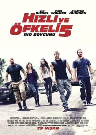 Hızlı ve Öfkeli 5 | 2011 | 480p | BRRip | XviD | AVI