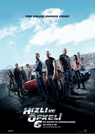 Hızlı ve Öfkeli 6 | 2013 | 480p | BRRip | XviD | AVI