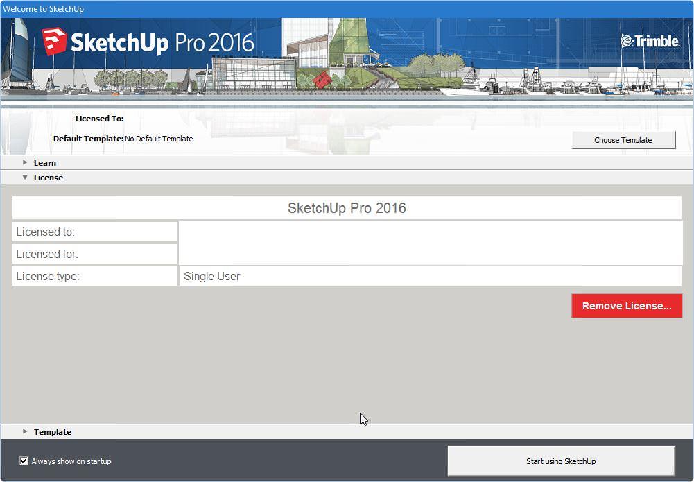SketchUp 2016 Crack, Patch License Key Free Download