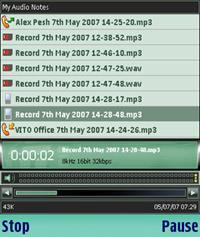 VITO AudioNotes Nokia S60