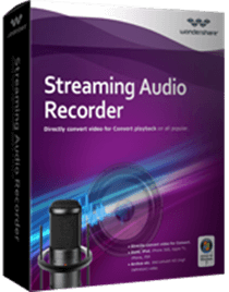 Wondershare Streaming Audio Recorder v2.3.10.1