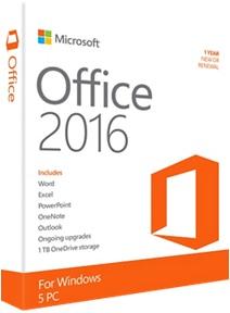 Microsoft Office 2016 Professional Plus Türkçe Katılımsız