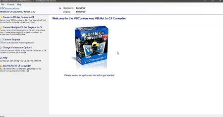 VB.Net to C# Converter v3.12 Full indir
