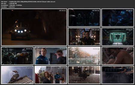 Yenilmezler | 2012 | 480p | BDRip | XviD | AVI