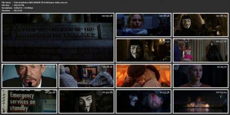 V For Vendetta | 2005 | 480p | DVDRip | XviD | AVI
