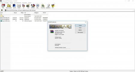 WinRAR v5.30 Türkçe Katılımsız