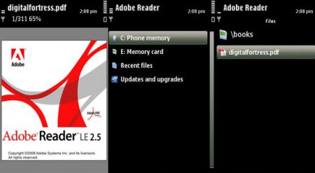 Adobe Reader for Nokia E Series