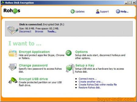Rohos Disk Encryption v2.2