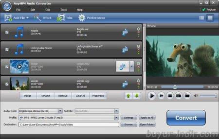 AnyMP4 Audio Converter v6.5.6