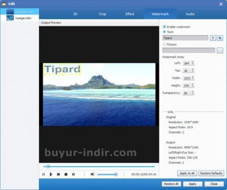Tipard 4K UHD Converter v8.0.12