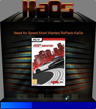 NFS Most Wanted 2 2012 Rip - Resimli Kurulum